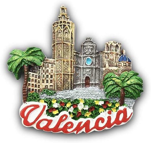 3D Valencia España Refrigerador Imán de Nevera Recuerdos ...