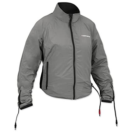 13be7b424 Amazon.com: Firstgear 90-Watt Warm and Safe Women's Grey Heated ...