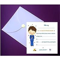Invitaciones para Primera Comunión Elegantes con Espectacular Sobre