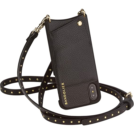 ad7039a18378 Bandolier  Nicole  Leather Wallet Phone Case   Strap Compatible w iPhone 8  Plus