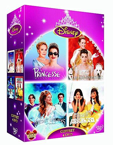 Coffret princesses : Il était une fois + Princesse malgré elle + Un mariage de princesse + Princess Protection program - coffret 4 DVD (Protection Program Dvd Princess)