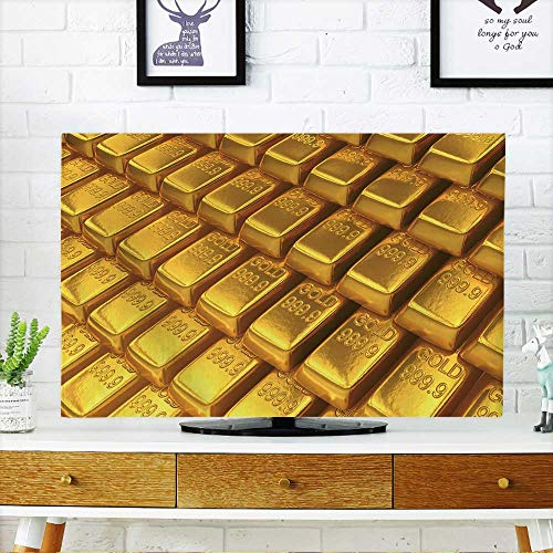 Battery Power Array Cabinet - PRUNUS Protect Your TV an Array of Gold Bars Protect Your TV W30 x H50 INCH/TV 52