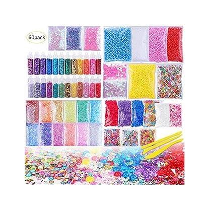 Kbsin212 Juego de 60 Perlas de Espuma Fina, Incluye Bolas de Espuma, Perlas de