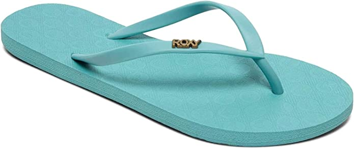 Roxy Womens Beach /& Pool Shoes Womens 8 Multicolour Black Blue Bkb