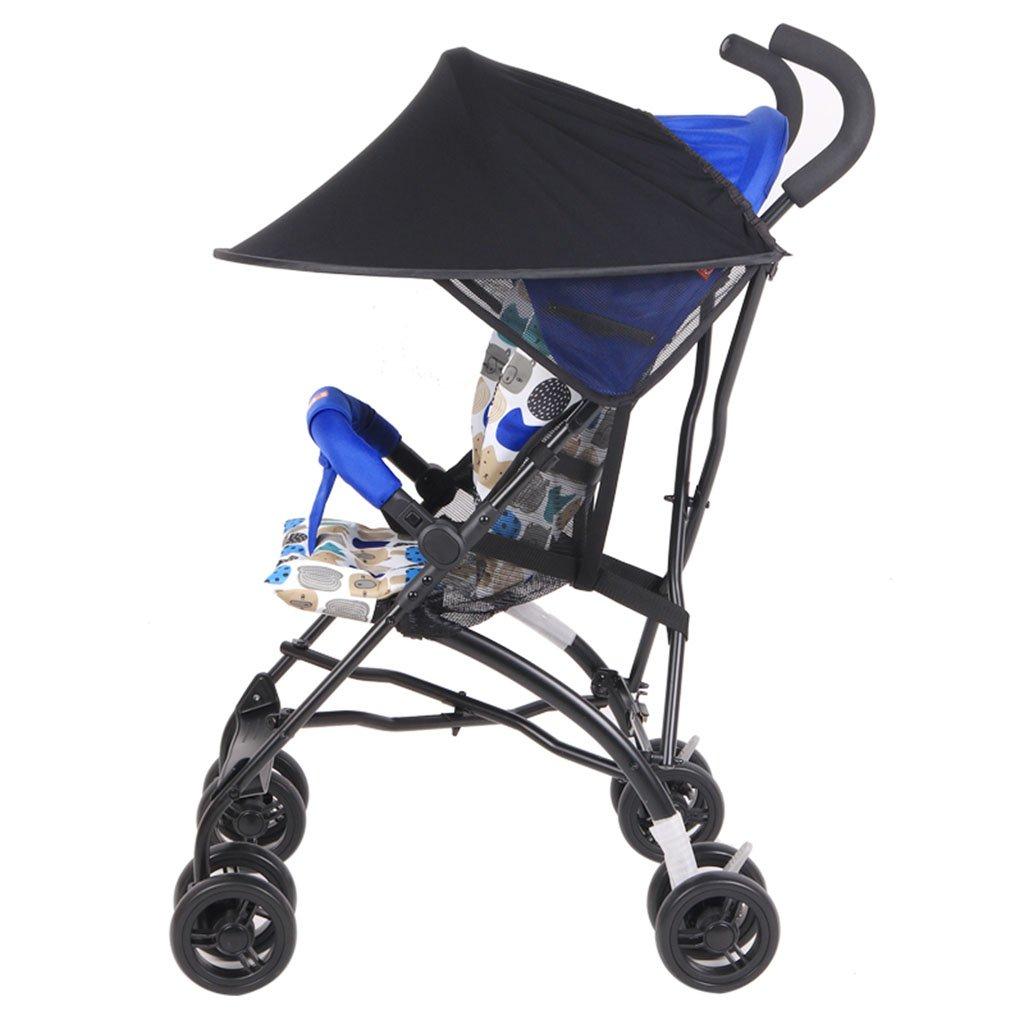 ポータブル赤ちゃんの傘折りたたみサスペンション超軽量の子供のトロリー冬と夏 (色 : 2#)  2# B07GTJ6GHF