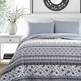 Stone Cottage 221597 Bexley Quilt Set, Twin, Blue