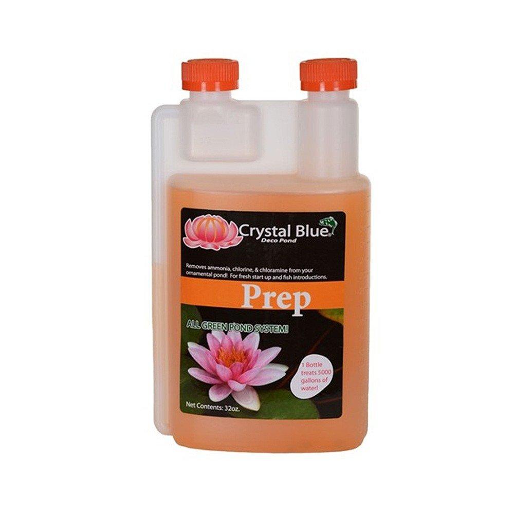 Sanco Crystal Blue 00999 Prep Pond Cleaner, 32-oz Orange