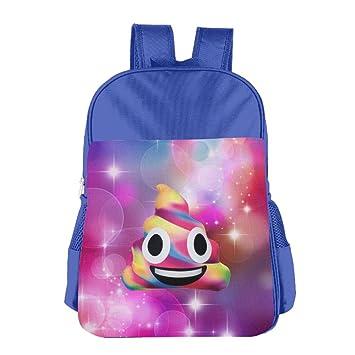 Color caca Emoji niños populares bolso ligero mochilas bolsas de hombro mochilas escolares libro: Amazon.es: Hogar