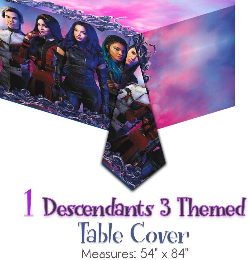 Amazon.com: Descendants 3 suministros para fiestas para 16 ...