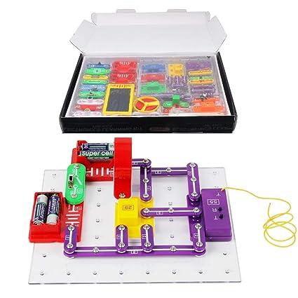 Amazon.com: Kit de aprendizaje de electrónica para niños ...