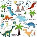 Jurassic World Dinosaurs Decorative Peel & Stick Wall Art Sticker Decals