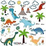 #6: Jurassic World Dinosaurs Decorative Peel & Stick Wall Art Sticker Decals