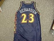 Jason Richardson. Golden State Warriors Navy Lightning Bolt Style Jersey 2726accda