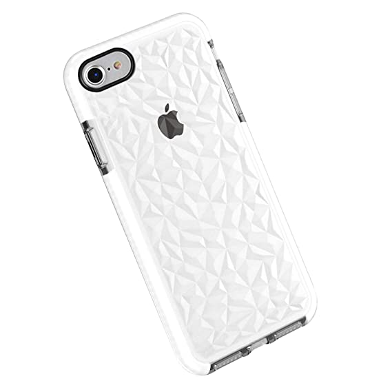 Funda iPhone 7/8/ 7 Plus / 8 Plus, Carcasa Silicona Transparente Protector TPU Airbag Anti-Choque Ultra-Delgado Anti-arañazos Case 3D Modelo ...