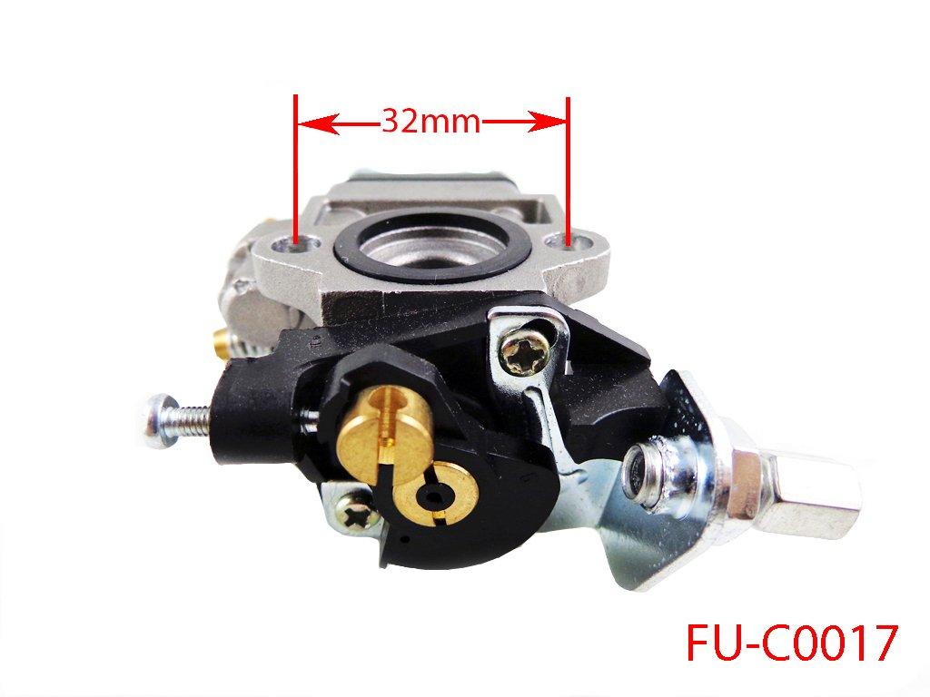 Amazon.com: 10 mm. carburador para SHINDAIWA desbrozadora ...