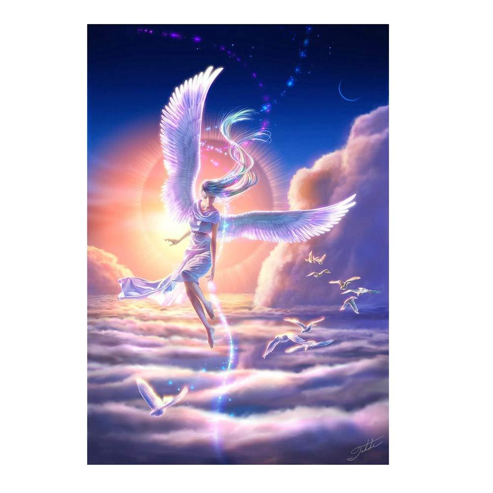 Malloom-Bekleidung Diamant Paint 5d Painting Full Weihnachten ohne Rahmen DIY f/ür Kinder Bilder Junge l/öwenzahn Landschaft Esel masrin voll Dragon Set