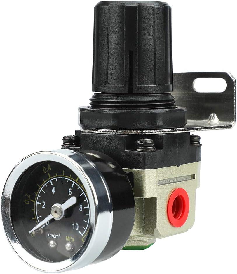 Regulador de presión reductor de presión de alta calidad para compresor de aire comprimido, 1/4 de pulgada