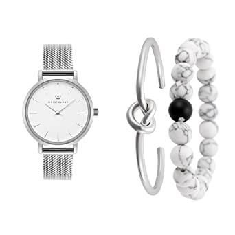 Amazon Com Wristology Charlotte Womens Watch And Bracelet Set In