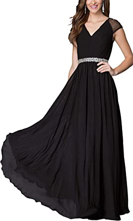 Plus Size Long Evening Prom Dresses Formal Party Ball Gown Bridesmaid Dress