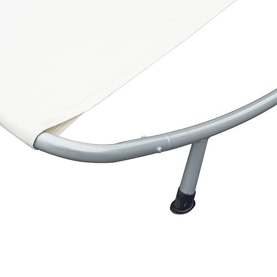 Amazon.de: 2L 1, 73 1.55h M Doppel Swing Liege Cremefarben Weiß   Passend  Für 2 Person Liegend Und Entspannend Auf ES.