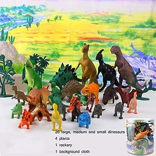 GIKMHYB Giocattolo per Bambini Dinosauro Giocattolo Puzzle Simulazione Educazione Precoce Regalo del Bambino,Multi-Colored-Big