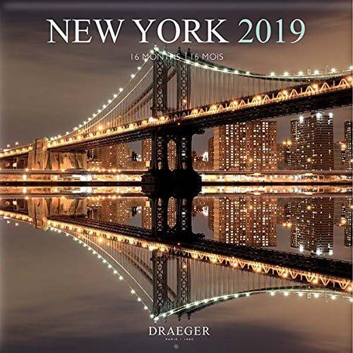 Draeger 79003095Grande Calendario Da Parete 29X 29Cm New York 2019