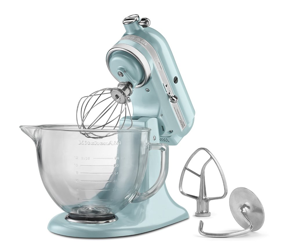 Amazon.com: KitchenAid KSM155GBAZ 5-Qt. Artisan Design Series with ...