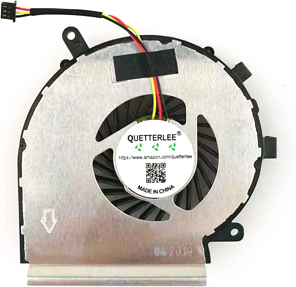 QUETTERLEE Replacement New Laptop CPU Cooling Fan for MSI 3-PIN GE62 GV62 GE72 PE60 PE70 GL62 GL72 6QC 2QD 2QE 6QG MS-16J1 16J2 16J5 16J8 16JB 16J9 1792 Series PAAD06015SL N285 N303 DFS470805WL0T Fan