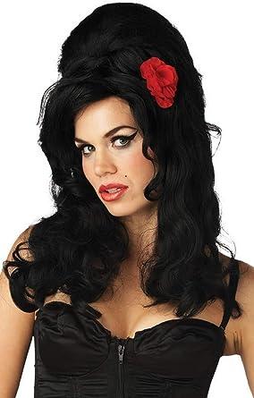 Ladies Black de Amy Winehouse Colmena Celebrity Disfraz Traje ...