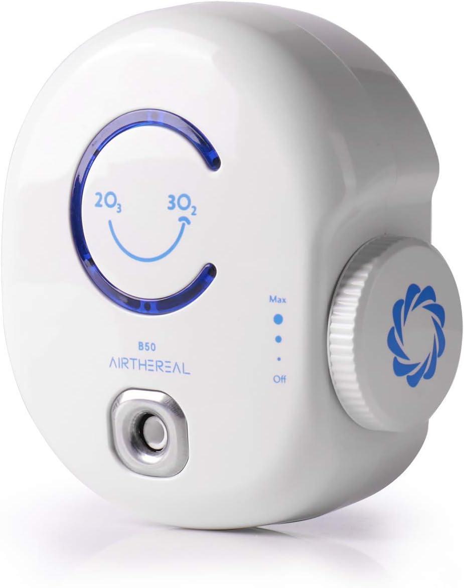 Airthereal B50 Mini generador de ozono, purificador de aire ...