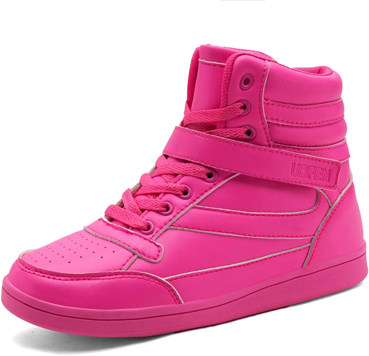 Retro Sneakers, Vintage Tennis Shoes UBFEN Womens Shoes Hidden Wedges 5.5cm Fashion Sneakers Ankle Boots Bootie Platform Heel High Top Casual Sports $36.99 AT vintagedancer.com