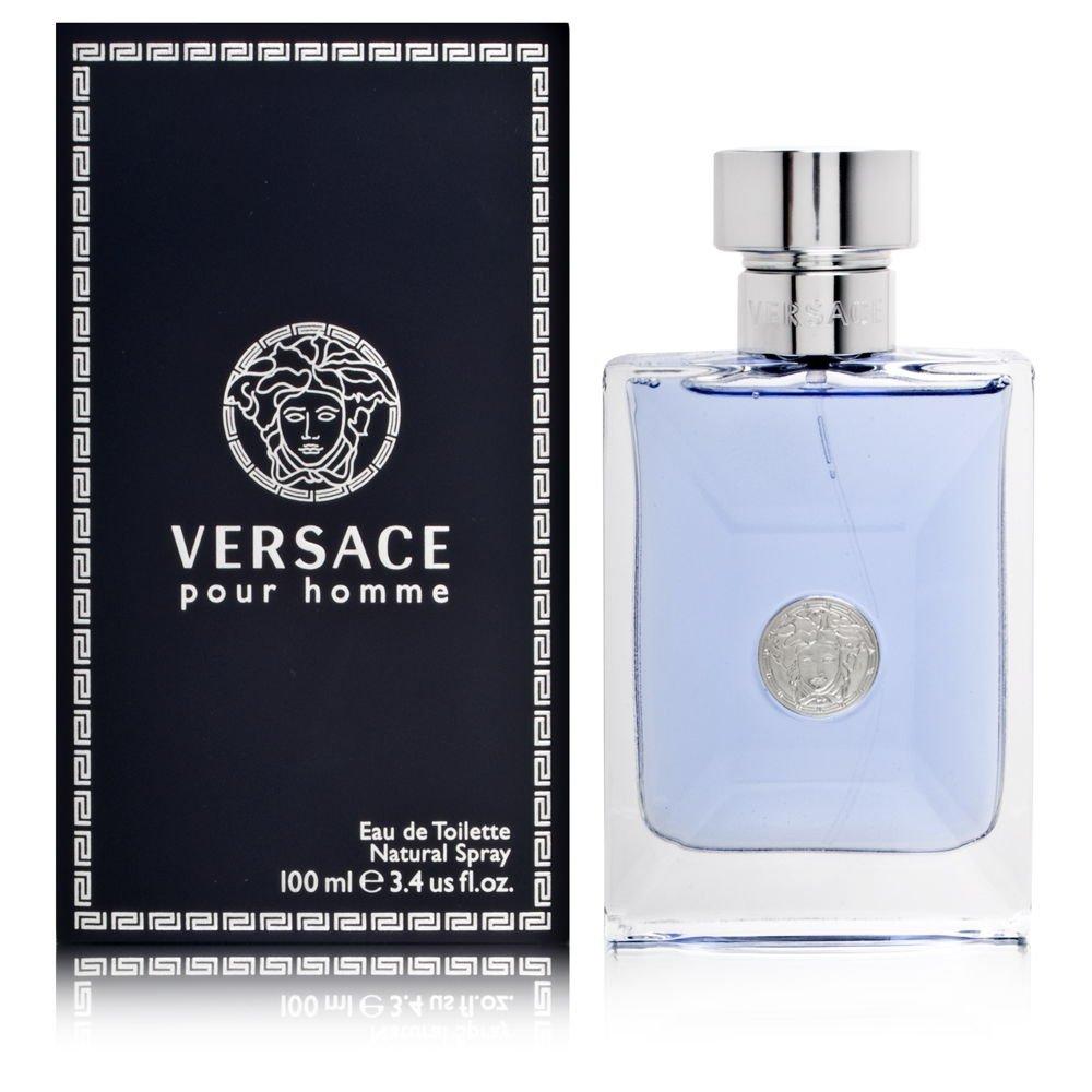 Versace Pour Homme Eau De Toilette Natural Spray 3.4 Fl Oz by Versace