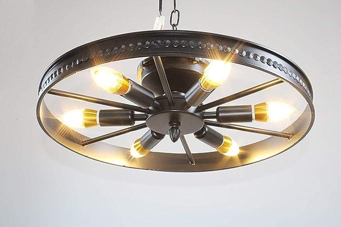 Plafoniere Industriali Vintage : Plafoniere industriale vintage nero camera da letto Ø46cm lampada