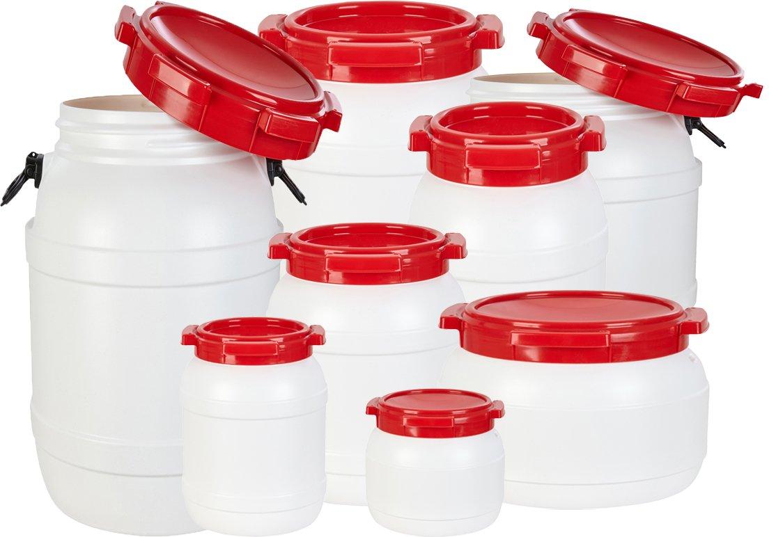 Noorsk Weithalstonnen in Verschiedenen Größen Luft- Wasserdichte und Wasserdichte Luft- Transportbehälter 4d8024