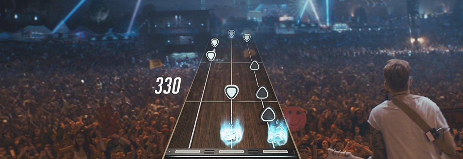 Guitar Hero Live Bundle (Xbox 360) Guitar and Game