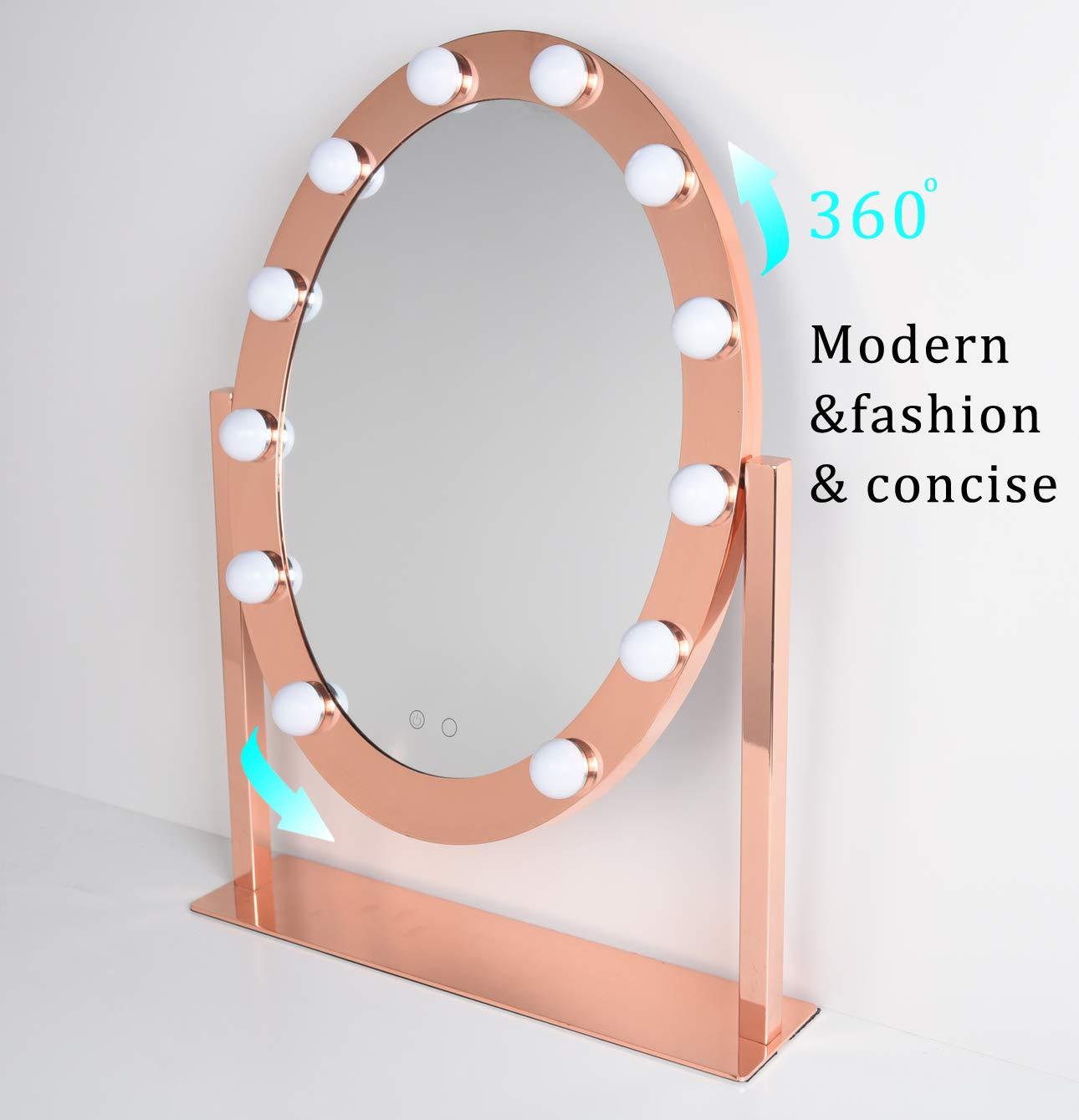 Amazon.com: Espejo de tocador con luces, espejo de ...