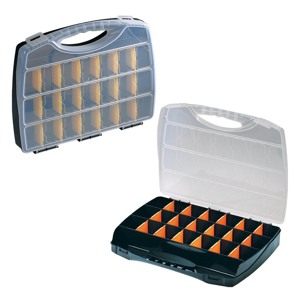 Great Plastic Multi-Purpose Box 360X270X50 mm With 22 Compartments Great Plastic S.L. Great Plastic_2045