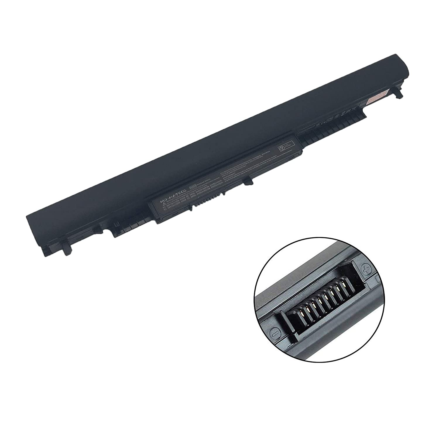 HS03 807956-001 HSTNN-LB6U Notebook Battery Replacement for Hp Pavilion 15-AFl4CA 14-AM038CA 15-AC157CI 15AC121DX 15-AF124AU 10.95V 2670mAh
