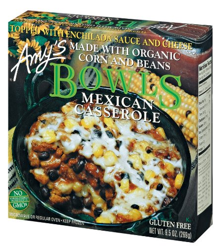 Mexican Casserole Bowl by Amy's Kitchen, 9.5 oz (12)