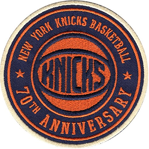 2017 NBA New York Knicks 70th Anniversary Official Warm Up Jersey Patch by Patch Collection