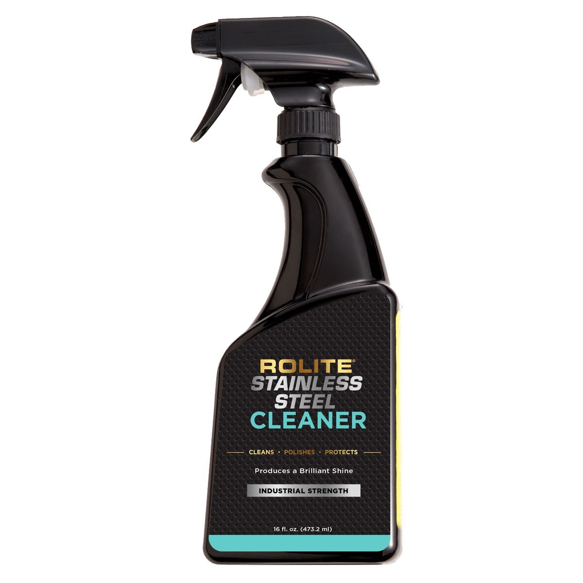 Rolite Stainless Steel Cleaner (16 fl. oz.) for a Protective, Streak-Free Shine That Removes Dirt, Grime, Residue, Water Spots & Fingerprints