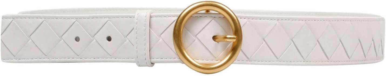 Luxury Fashion | Bottega Veneta Womens 608559VCPP59033 White Belt | Spring Summer 20