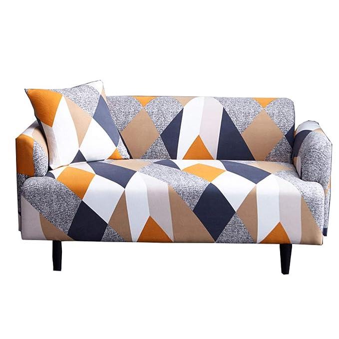 ljym88 Funda para sofá 1 2 3 4 Funda Antideslizante para Todas Las Estaciones, Sofá Stretch Elastic Fabric Sofá Protector