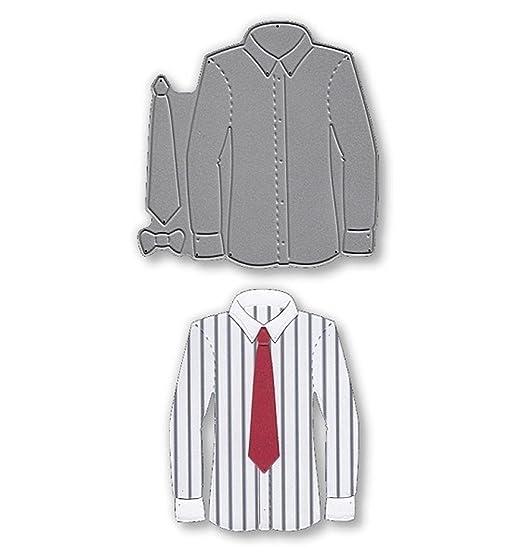 Signature troqueles – Camisa y corbata SD310: Amazon.es: Hogar
