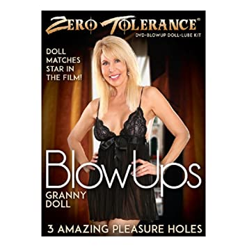 Image Unavailable Image Not Available For Color Zero Tolerance Granny Blow Up Doll