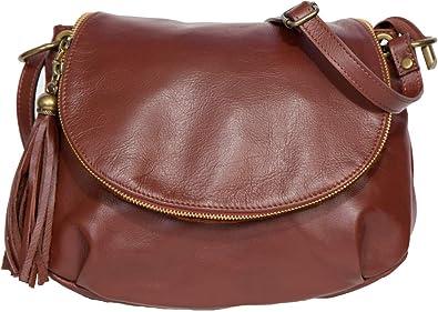 0641d27658 LucieElle Sac Femme CUIR souple Italien porté bandoulière porté épaule sac  a main femme 'Silvana