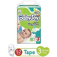 Babyjoy JP Medium Size 3 52 diapers (6-12 kg.)