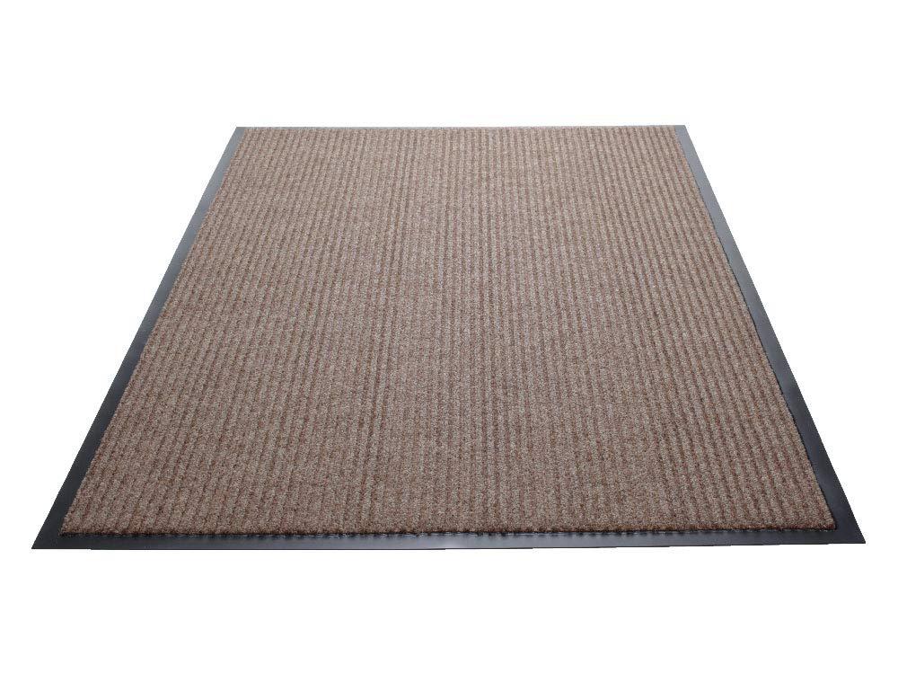 3x4 Vinyl//Polypropylene Blue Guardian Golden Series Dual-Rib Indoor Wiper Floor Mat