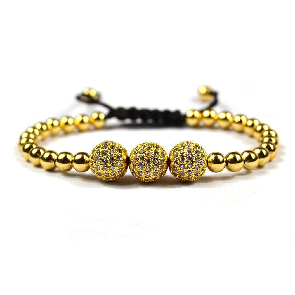 Amazon.com: Anil Arjandas Men Bracelets,macrame Bracelet For Man: Jewelry