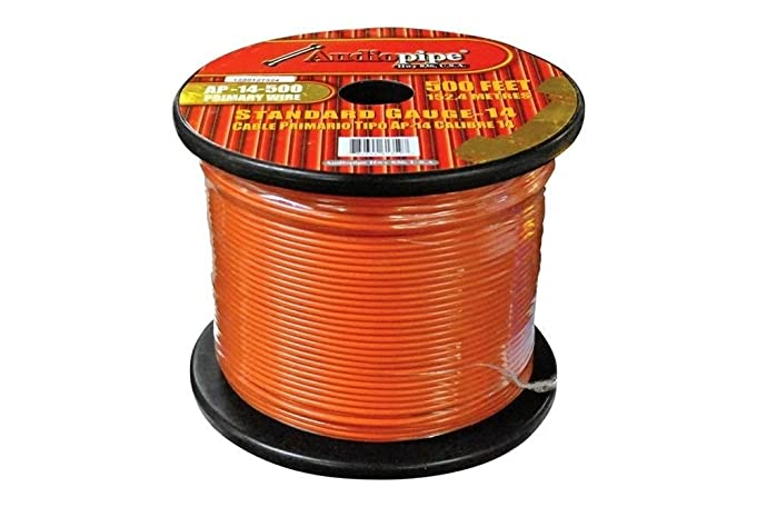 Amazon 14ga gauge 500ft audiopipe primary remote wire auto amazon 14ga gauge 500ft audiopipe primary remote wire auto power ground cable 2 rolls colors available red yellow purple blue white green publicscrutiny Choice Image